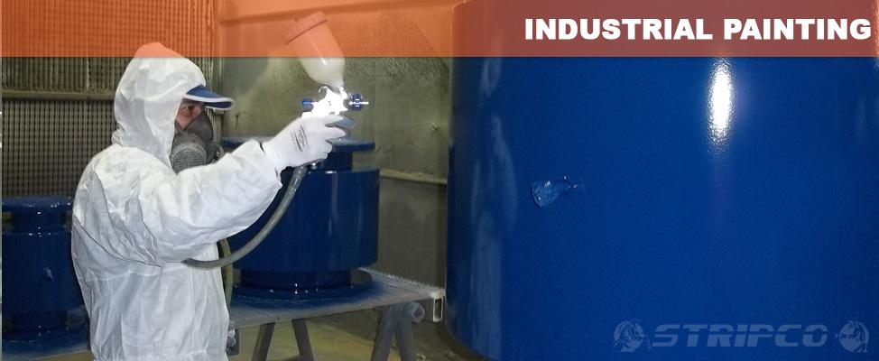 Industrial Spray Painting Sydney